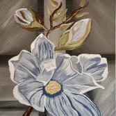 Magnolie in weiß
