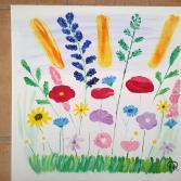 Wiese mit Blumenvielfalt