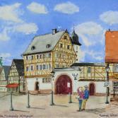 Großostheim - Marktplatz, Nöthigsgut