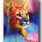 """Gemälde """"cougar"""""""