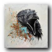"""Gemälde """"raven"""""""