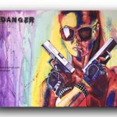 "Gemälde ""danger"""
