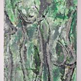 3-akt-silhouetten in grün