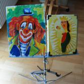 Madonna_mit_Clown
