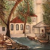 Fischerdorf am Bosphorus