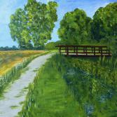 Brücke am Kanal