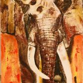 peaceful elephant
