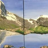 Matterhorn am Frühling