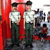Wächter in Peking