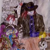 Undertaker und Hexe