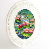 Water lily pond miniature