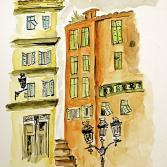 Altstadtfarben in Nizza