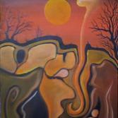 Der Olymp der Unterwelt im Morgengrauen