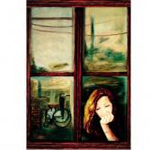 Aida und Fenster