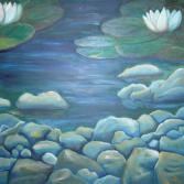 Steine im Wasser II