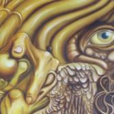 Durchblick (2000) Airbrush-Mischtechnik KVN 084