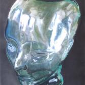 Glaskopf (2007) Airbrush-Mischtechnik KVN 379