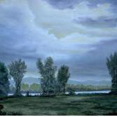 Nachtstimmung am Rhein
