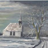 Neudorfer Kapelle im Winter