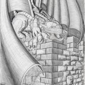 Gargoyle (2009) Bleistift KVN 460