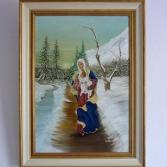 Madonna im Schnee