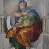 Delphische Sibylle nach Michelangelo
