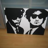 Blues Brothers Kunstwerk
