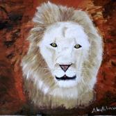 Tiere Afrikas -Löwe