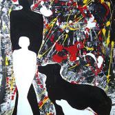 """"""" Damen mit Hund """""""