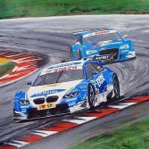 DTM 2012 BMW vs. AUDI