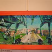 AUF dem Brandenburger Tor