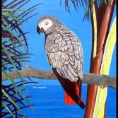 Papagei - Auftragsarbeit