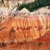 Highlighted North Wall (Cedar Breaks, USA)