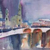 Dresden I - Blick über die Elbe