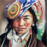 Das Mädchen aus Tibet