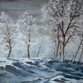 Hochgestade im Winter