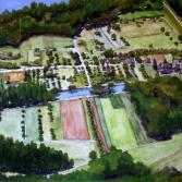 Luftbild von Altdettenheim