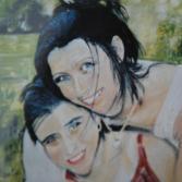 Zwei schöne Mädchen