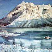 Lofoten im Winter Norwegen