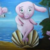 Die Geburt des Schweinchens
