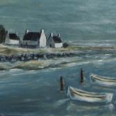 Fischerhäuser Bretagne