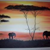 Afrika  70x50