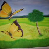 Tanz der Schmetterlinge 50x40