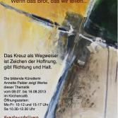 Plakat der Ausstellung WEG WEISER