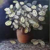 Trockenstrauß Judas-Silberlinge (Lunaria annua)