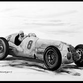 Caraccioila im Mercedes Silberpfeil
