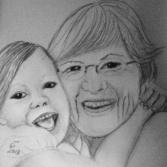 Love, Oma mit Enkel