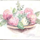 Hortensienschale