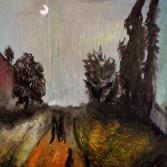 Mond und Menschen