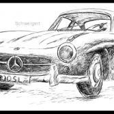 Mercedes 300SL W198